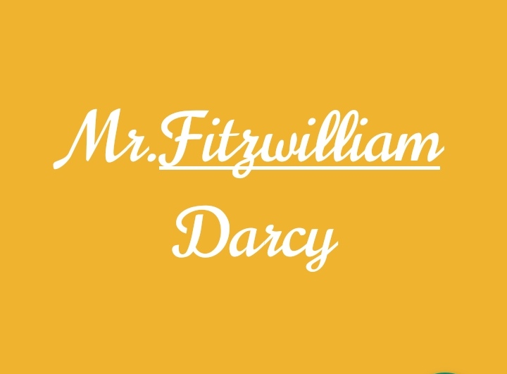 PRIDE AND PREJUDICE DARCY CHARACTER