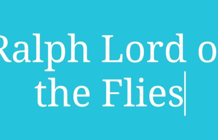 Ralph Lord of the Flies